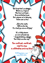 printable invitation templates baby shower invitation templates dr seuss baby shower invitations