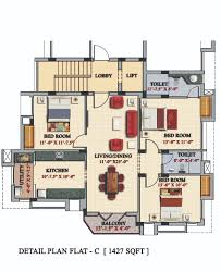 3 bedrooms duplex floor flats plan design photos of casagrande
