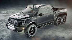 Ford Raptor Police Truck - hennessey will make 600 horsepower six wheeled velociraptor for