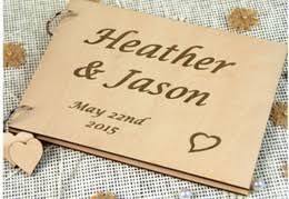 Rustic Wedding Photo Albums Discount Wood Wedding Album 2017 Wood Wedding Album On Sale At