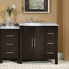 Modular Bathroom Vanity Silkroad Exclusive 53 5 Single Sink Lavatory Cabinet Modular