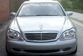 mercedes aftermarket headlights remove change upgrade s class w220 headlights