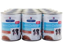 hills prescription diet canine derm defense chicken 354gx12 my