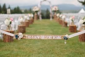 outdoor wedding ideas diy ideas for your outdoor wedding