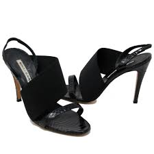 manolo blahnik shoes on sale up to 70 off at tradesy