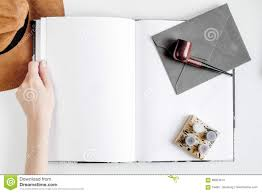 writing concept papers author office in writer concept on desk background top view mock royalty free stock photo