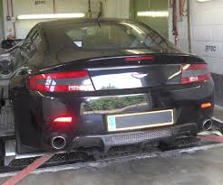 aston martin back rs aston martin vantage back on dyno for power run rs fabrications