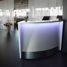 Illuminated Reception Desk Modular Reception Desk Wooden Illuminated Moree