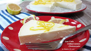 low carb chilled lemon cheesecake dietplan 101 com youtube