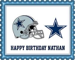 dallas cowboys edible cake topper u0026 cupcake toppers u2013 edible