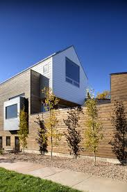 Home Design Denver Contemporary Three Level Home Showcasing Creative Design Features