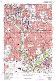 St Paul Campus Map Saint Paul West Topographic Map Mn Usgs Topo Quad 44093h2