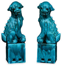 foo dogs statues pair of foo dog statues houzz