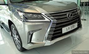 lexus lx 570 keys gallery 2016 lexus lx 570 in malaysian showroom image 414960