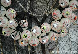 halloween craft eyeball wreath hoosier homemade
