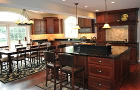 cherry kitchen cabinets with granite countertops granite