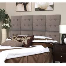 Next Furniture Az Home And Gifts Next Luxe Tweed Grey Queen Headboard Fn19529 7