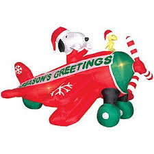 peanuts airblown inflatables 6 ft gemmy christmas airblown peanuts
