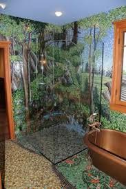 Bathroom Mosaic Ideas Aquarium Mosaic In Bathroom Mosaics Aquariums And Bathroom Colors