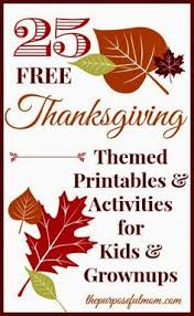 30 great thanksgiving and activities for that time