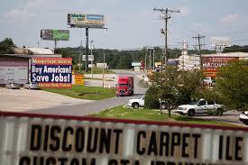 Area Rugs Dalton Ga In Dalton Ga U0027carpet Capital Of The World U0027 Job Losses Force