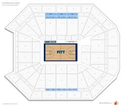petersen events center pittsburgh seating guide rateyourseats com