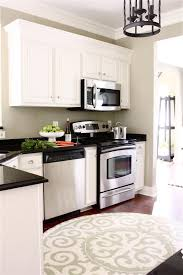 Crown Moulding Kitchen Cabinets by Remodelaholic Adding Crown Molding In Our Kitchen And Family