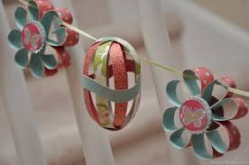 Easy Easter Paper Decorations by Diy Easter Decorations