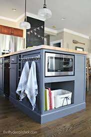 how to install base cabinets island microwave in the island finally kitchen island design