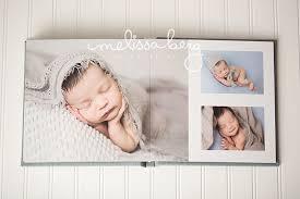 baby photo album raleigh newborn album by berg photography
