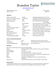 Movie Theater Resume Sample by Design Resume Template For Cinema Film Movies Technician On Film