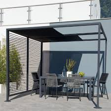 15 X 15 Metal Gazebo by Blooma Moorea Metal Gazebo Departments Diy At B U0026q Casita