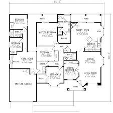 six bedroom house plans floor plan sqaure bedrooms bathrooms garage spaces width