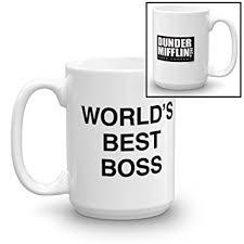 Office Coffee Mugs Amazon Com The Office World U0027s Best Boss Mug Coffee Cups U0026 Mugs