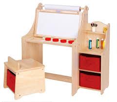 Kids Adjustable Desk by Art Desk For Kids With Storage Tjihome