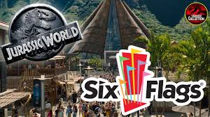 Nola Flags Jurassic World First Day Of Shooting Six Flags New Orleans