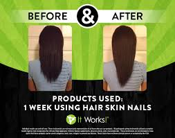 hair skin nails nourishing complex it works crazy body wraps