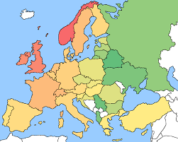 Map Of Europe With Countries by Europe Map No Labels Europe Map No Labels Spainforum Me