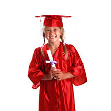 graduation cap and gowns pre k kindergarten cap gown tassel and diploma certificate set