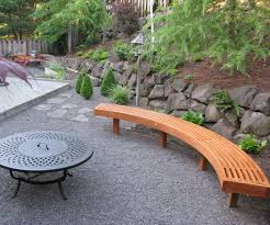 curved outdoor bench seating luzlc cnxconsortium org outdoor