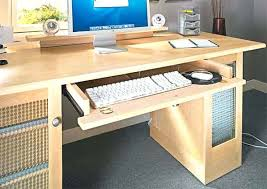 Computer Desks With Keyboard Tray Computer Desk With Keyboard Drawer Computer Desk Keyboard Tray