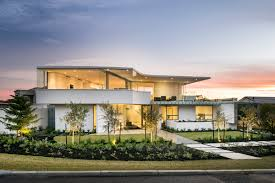 contemporary home in melbourne with resort style modern photo on
