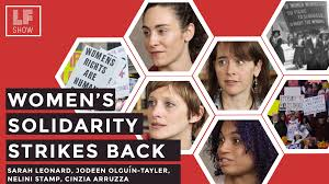 show the back of some modern womens medium length haircuts women s solidarity strikes back laura flanders show medium