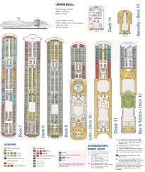 Carnival Triumph Floor Plan by Carnival Cruise Valor Ship Deck Plan Pinterest Punchaos Com