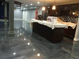Basement Floor Finishing Ideas Affordable Basement Floor Ideas At Wonderful Epoxy Floor Home Design