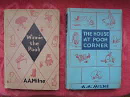 winnie pooh house at pooh corner two 1920s books early