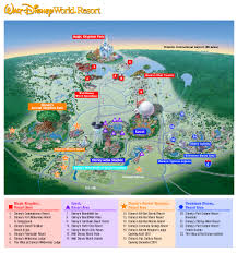 Maps Orlando map of disney world parks map of disney world parks map of