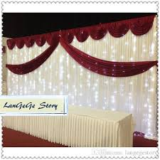 2018 birthday decorations 3m 6m white backdrop and