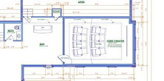 home theater floor plans the bacchus palace build thread erskine designed and