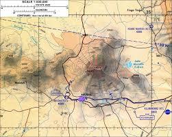 Tanzania Map Mount Meru Topographic Map Arusha Tanzania U2022 Mappery